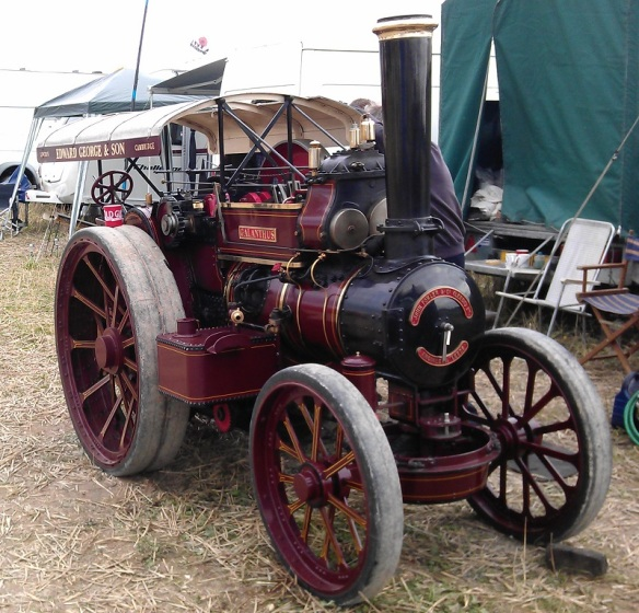 GDSF 2015 Miniature Traction Engine Galanthus