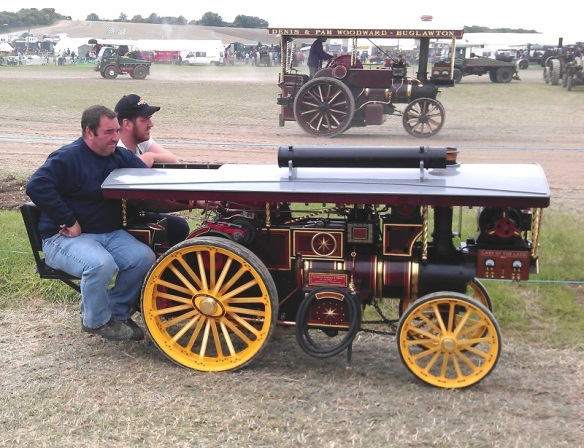 GDSF 2015 Miniature Traction Engine Lady Of the Lake