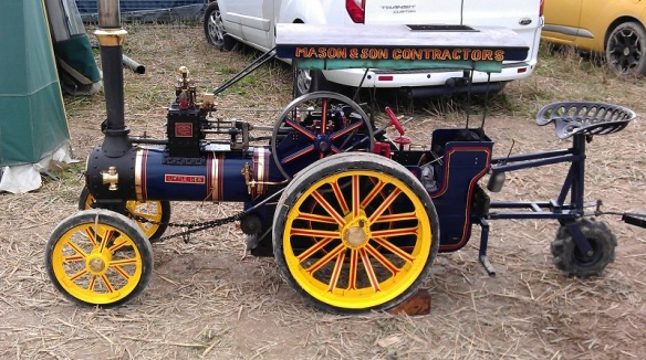 GDSF 2015 Miniature Traction Engine Little Lew