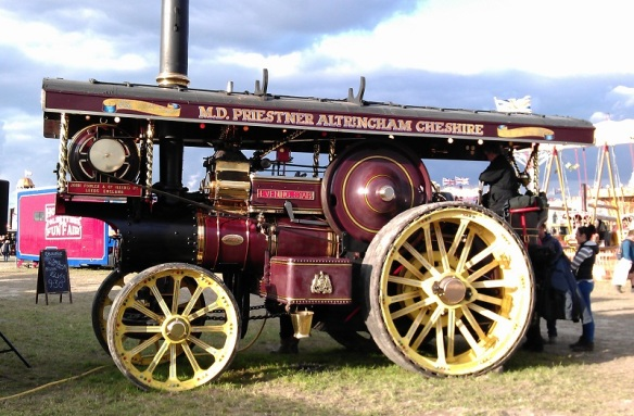 GDSF 2015 Showmans Engine Evening Star