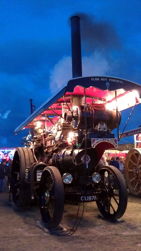 GDSF 2015 Showmans Engine John Murphy 2