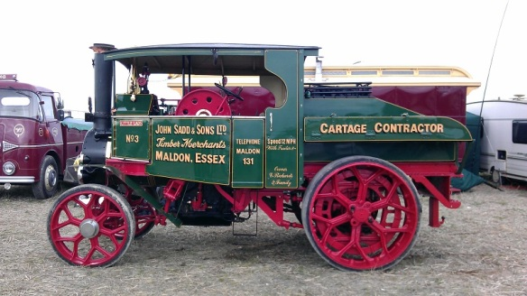 GDSF 2015 Steam Lorry Little Lady