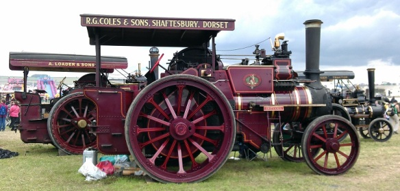 GDSF 2015 Traction Engine Britannia