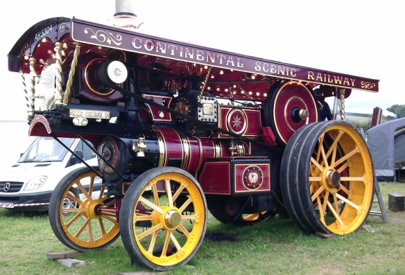 GDSF 2015 Traction Engine King George V