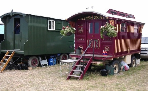 GDSF 2015 Traction Engine Living Van