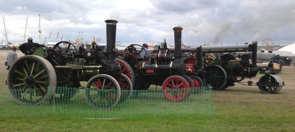 GDSF 2015 Traction Engine, Steam Roller & Steam Lorry Line up