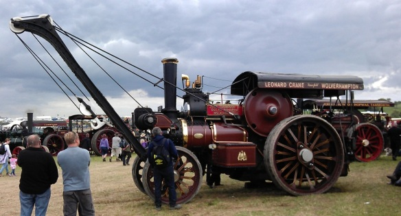 GDSF 2015 Traction Engine With Crain