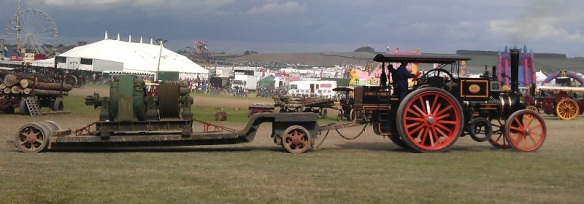 GDSF 2015 Traction Engine With Load