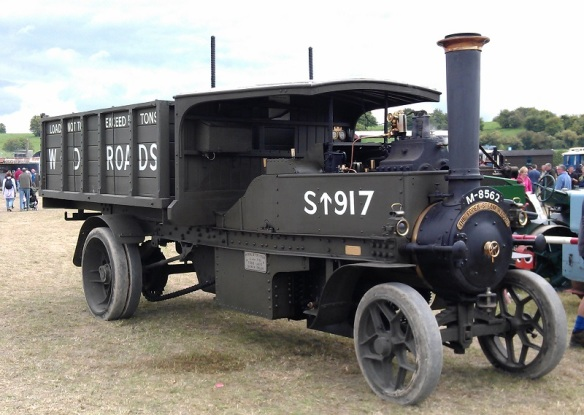 GDSF 2015 Traction Engine World War 1 Steam Lorry