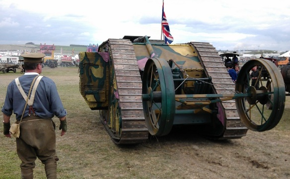 GDSF 2015 Traction Engine Worls War 1 Tank 1