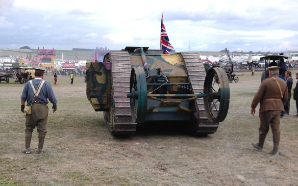 GDSF 2015 Traction Engine Worls War 1 Tank 2