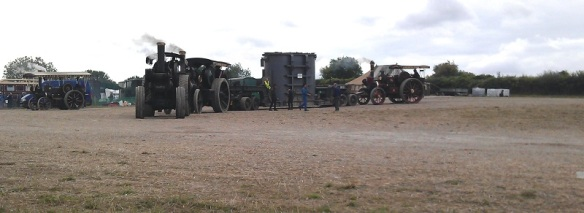 GDSF 2015 Traction Engines With Transformer Load