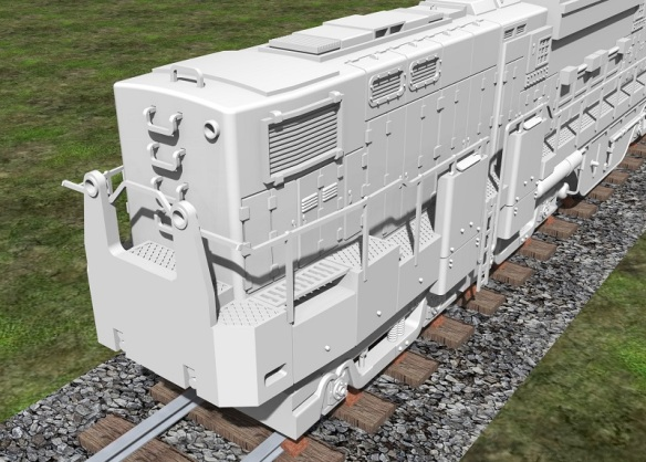 Alco C-855 end (render)