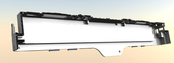 Alco C-855 In Side Shell (Render)