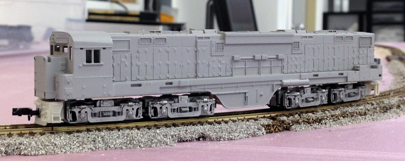 Alco C 855 8 C 855b Wip N Scale 1 160 James Train Parts