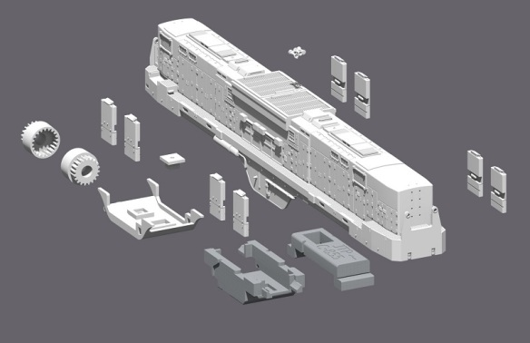 Alco C-855B kit (Render)