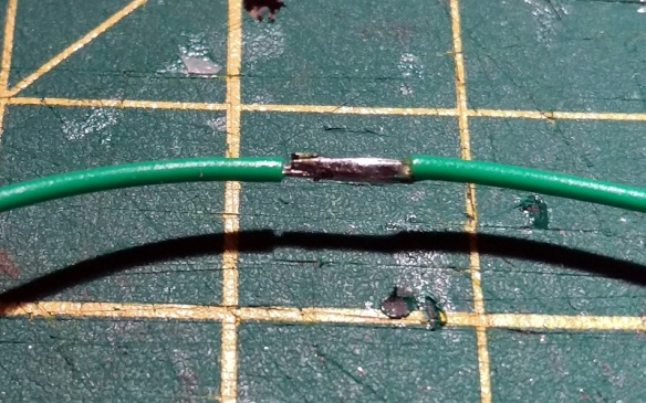 Wire Joint With Heat Shrink 6