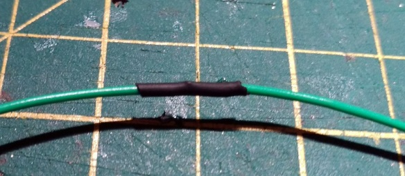 Wire Joint With Heat Shrink 7