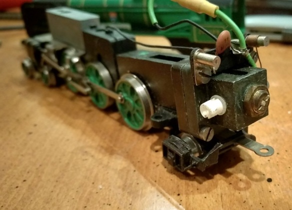 Fitting DCC to Wrenn OO Locomotives – Horizontal Motors